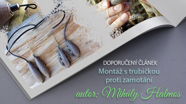 Doporučený článek - Montáž s trubičkou proti zamotání!